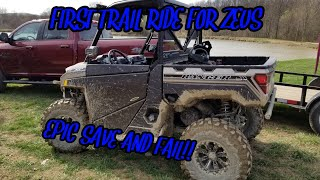 5. 2018 Polaris Ranger XP 1000 First Trail Ride