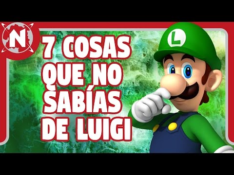 7 cosas que no sabías de Luigi