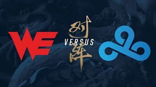 Video WE vs. C9 | Quarterfinals Game 2 | 2017 World Championship | Team WE vs Cloud9 MP3, 3GP, MP4, WEBM, AVI, FLV Juni 2018