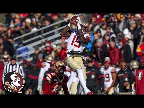 FSU's Tamorrion Terry Blisters The Boston College Secondary