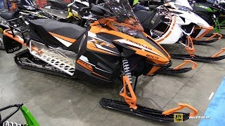 8. 2014 Arctic Cat XF 8000 Crosstour Sled - Walkaround - 2016 Toronto ATV Show