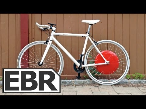 Superpedestrian Copenhagen Wheel Video Review - All In One Smart Wheel Electric Bike Conversion Kit