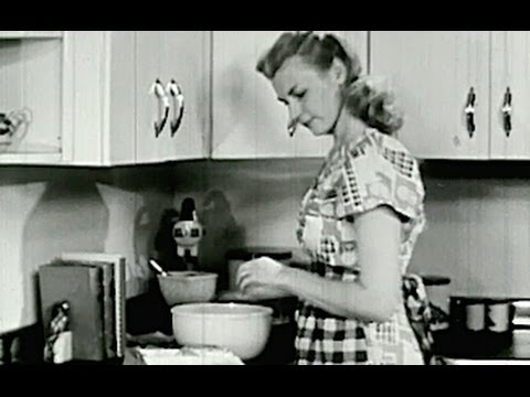 1940's - HOUSEWIFE SCHOOL - Cooking Terms