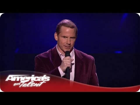 Witty Comedian Tom Cotter - America's Got Talent Season 7 - Las Vegas Performance
