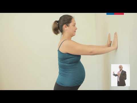 Ejercicios físicos en el segundo trimestre del embarazo
