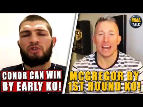 UFC Fighters PREDICT Conor McGregor vs Dustin Poirier 2, Michael Chandler vs Dan Hooker - UFC 257