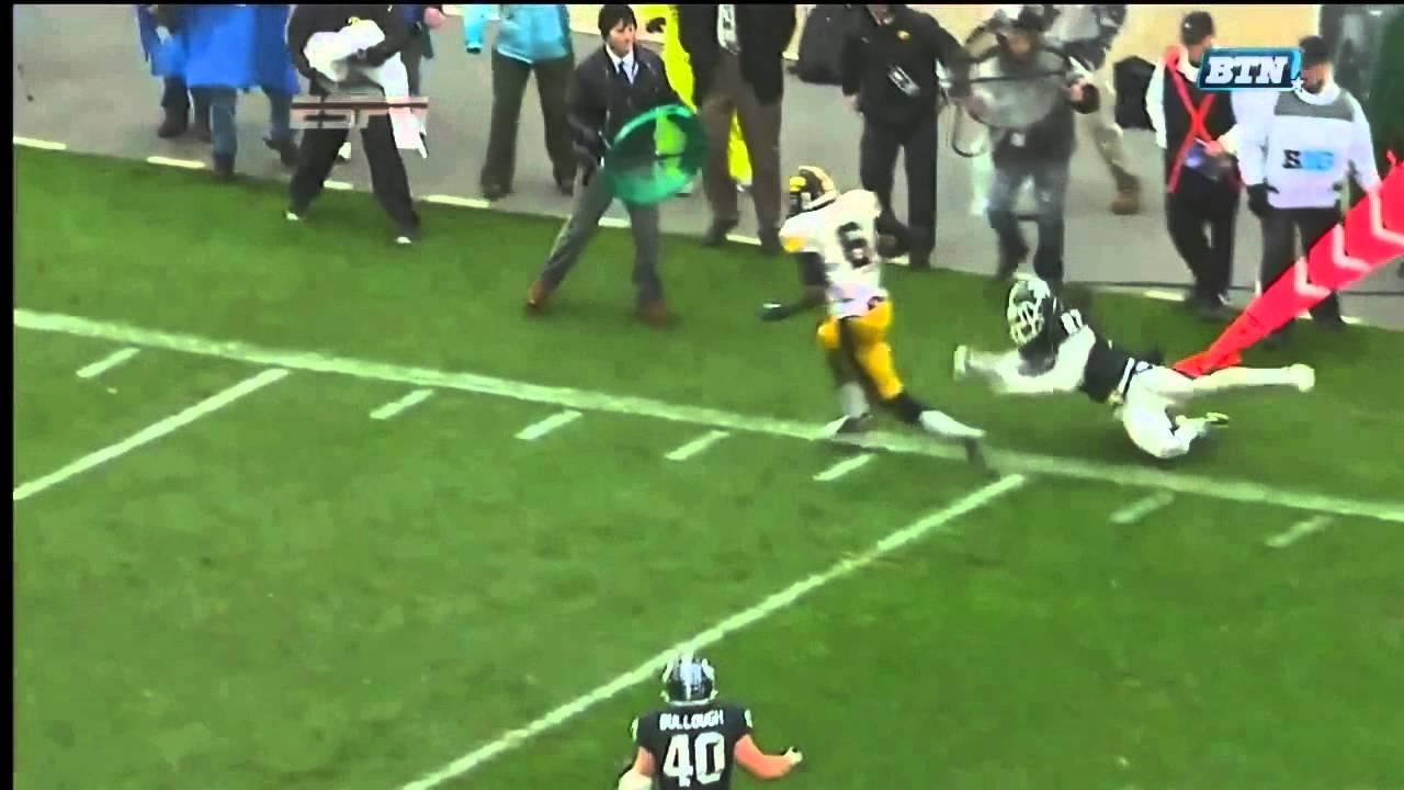 Keenan Davis vs Michigan State & Penn State (2012)
