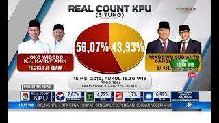 Video Rekapitulasi Nasional KPU: Jokowi-Ma'ruf Unggul di 16 Provinsi MP3, 3GP, MP4, WEBM, AVI, FLV Mei 2019
