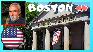 Quincy (MA) United States  City new picture : BOSTON, the historic QUINCY MARKET (USA)