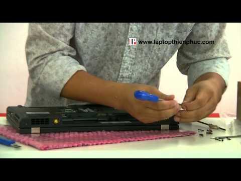 Hướng dẫn vệ sinh lắp ráp IBM THINKPAD W520 - Phần 3