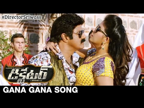 Dictator Telugu Movie Songs | Gana Gana Song Trailer | Balakrishna | Anjali | Thaman S | Sriwass