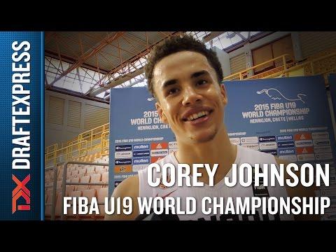 Corey Johnson 2015 FIBA U19 World Championship Interview