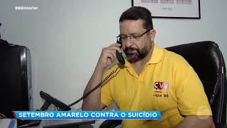 Setembro Amarelo: campanha alerta para a prevenção do suicídio