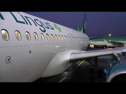 Aer Lingus | Airbus A320 | EI 342 Dublin to Zurich - early morning flight