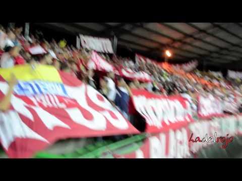 Gol del rojo en el Centenario - Barón Rojo Sur - Quindío 1 América 1 - Baron Rojo Sur - América de Cáli