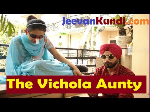 The Vichola Aunty -Indian Marriage Councillor - Funny Video