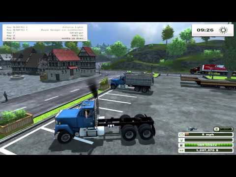 Mack Palfinger Transport Pack v2.0 kompatibel zum Logistik Pack