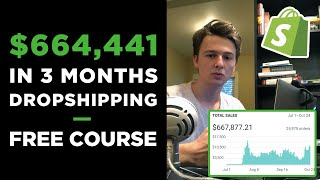Video [Free Course] Dropshipping in 2019 | $664,441 in 3 Months With ONE Product MP3, 3GP, MP4, WEBM, AVI, FLV Maret 2019