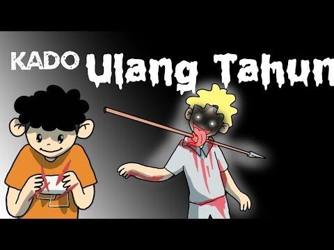 Kartun Lucu - Kado Ulang Tahun - Kartun Horor - Wowo dan teman - teman