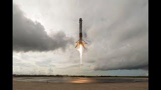 Tir du dernier cargo Dragon de SpaceX vers l'ISS depuis le pas de tir historique 39A. En effet la NASA a engagé SpaceX pour livrer 12 cargos. CRS-12 est donc ...