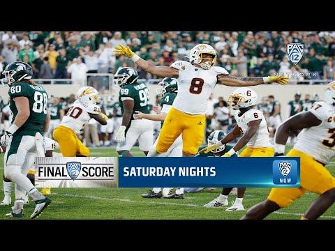 Highlights: Arizona State football upsets No. 18 Michigan State