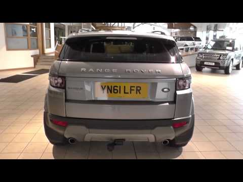 Land Rover Range Rover Evoque 5 Door Diesel 2012MY 2.2 SD4 Pure TECH 190HP Manual 4WD U8711