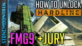 Battlefield Hardline FMG9 Gameplay - How to Unlock FMG9 & Jury (Mechanic Syndicate Assignment)