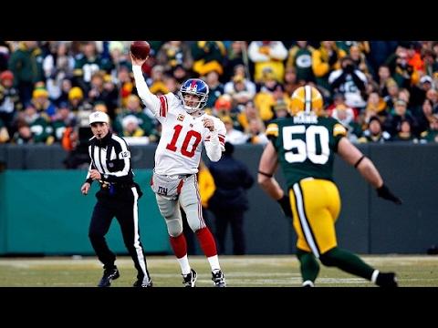 Giants vs Packers 2011 Wild Card Highlights (видео)