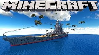 Minecraft : BATTLESHIPS - 'LITTLE LIZARD VS TINY TURTLE'