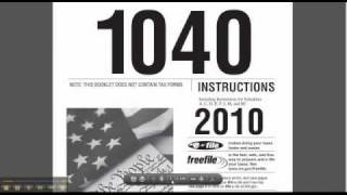 Find Answers to Your Tax Questions in 1040 Instructions
