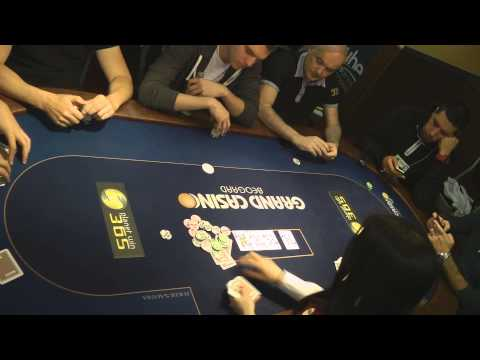 Danube Poker Masters 5:Main Event - hand #001_Best poker videos of the week
