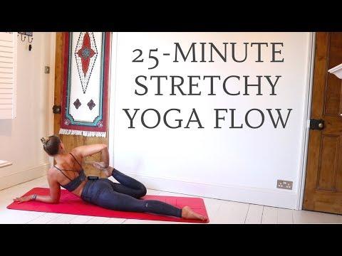 ALL LEVELS STRETCH YOGA FLOW | 25-Minute Yoga Flow | CAT MEFFAN