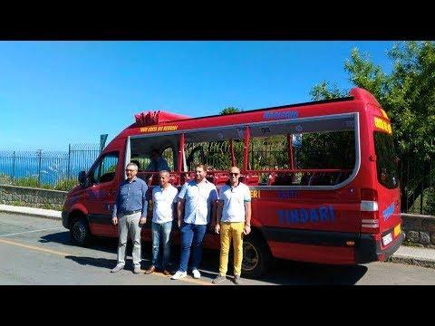 Bus turistico, Tindari-San Giorgio. Le interviste