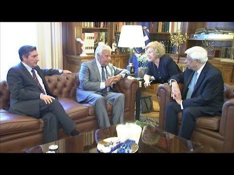 Ο Προκόπης Παυλόπουλος,  συναντήθηκε με τον πρώην Πρωθυπουργό της Ισπανίας  Felipe Gonzàlez Márquez