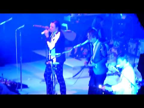 ARCADE FIRE (THE REFLEKTORS) 'WE EXIST' @ THE ROUNDHOUSE, LONDON 2013