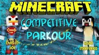 Minecraft: USA vs UK Stage 1: Competitive Parkour: T3C Parkour
