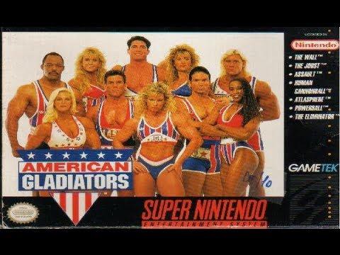American Gladiators Super Nintendo