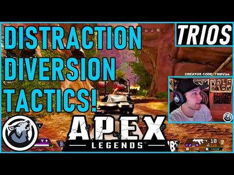 DISTRACTION DIVERSION TACTICS! VISS APEX LEGENDS SEASON 5