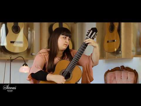 Rebeca Oliveira plays Carlos Seixas - Sonata No. 24 (Tr. by R. Oliveira) on a 2018 J. González López