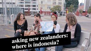 Video Asking New Zealanders: Where is Indonesia? MP3, 3GP, MP4, WEBM, AVI, FLV Februari 2018