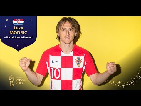 ADIDAS GOLDEN BALL - Luka Modric - FIFA World Cup™ Russia 2018