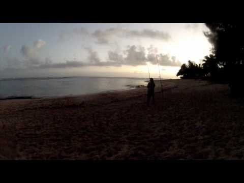 Ulua Fishing Beach – Kauai 2012