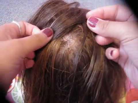 Hair cutting - ASMR hair brushing,cutting,hair playing