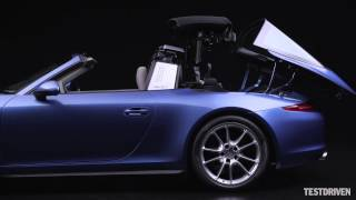 2014 Porsche 911 Targa Roof operation