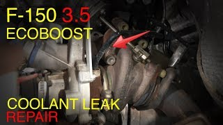 9. F-150 Ecoboost 3.5 Turbo Coolant Connector Replacement (Tips and Tricks)