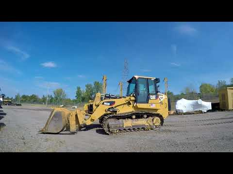 CATERPILLAR TRACK LOADERS 963D equipment video 6HBwzxCVxqc