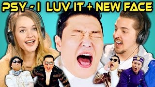 Video COLLEGE KIDS REACT TO PSY - 'I Luv It' & 'New Face' M/V MP3, 3GP, MP4, WEBM, AVI, FLV Desember 2017
