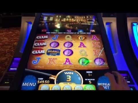 LIVE PLAY on Clue Slot Machine with Bonuses and Big Win – Part 1