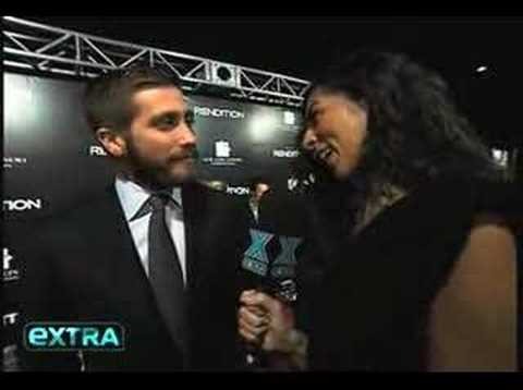 Jake Gyllenhaal at the Rendition premiere - extra interview