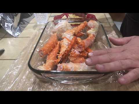 Prepare And Steam King Crab From Walmart Like A PRO.